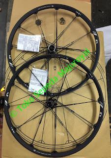 """Wheelset 27,5"""" Crankbrothers Iodine2 Black"""