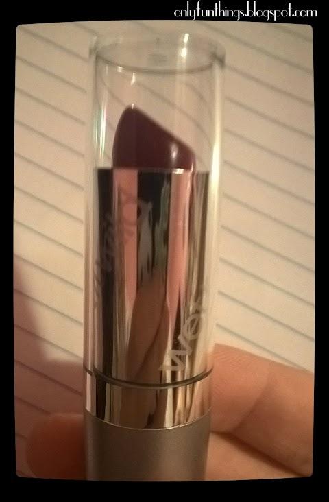 Wet N Wild Lipstick in Dark Wine- Review