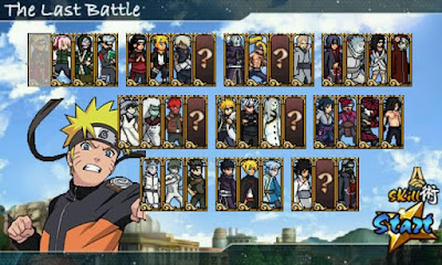 Download Naruto Senki MOD The Last Battle All Character Unlocked Apk Game Terbaru