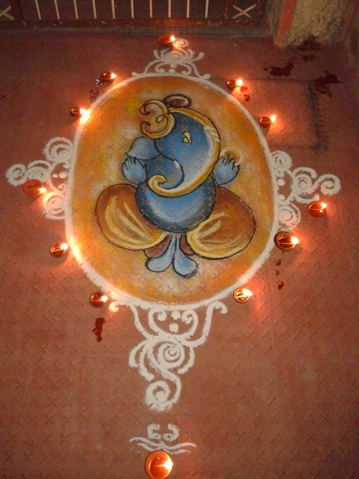 Rangoli Diwali Collection 23