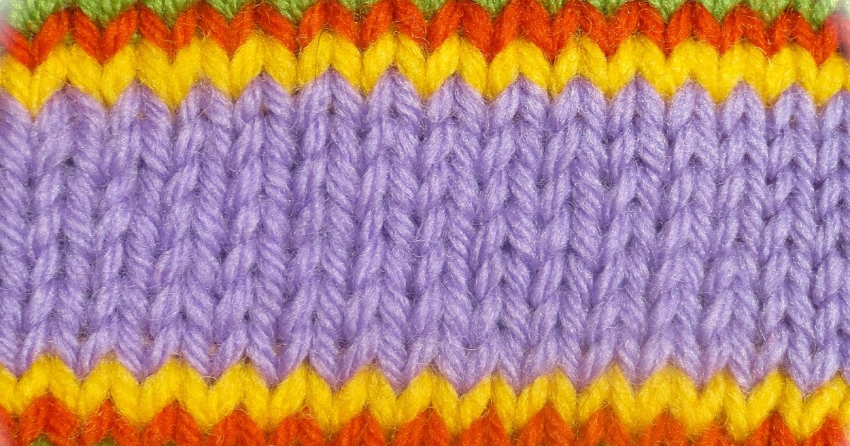 TECHknitting: Smoothed circles: a jogless join for single rounds ...