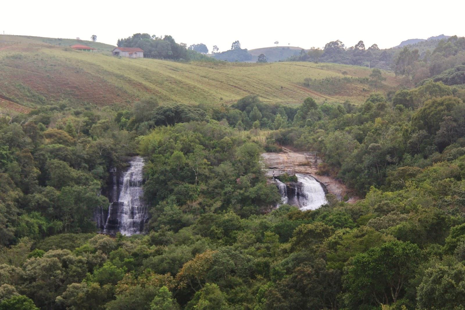 Cachoeira dos Luis, em Bueno Brandão
