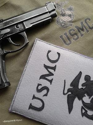 чехол морская пехота США