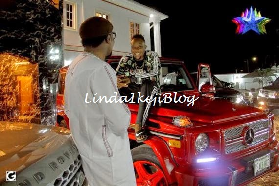 kceegwagonbirthday+present+lindaikejiblog0 Kcee Gets 2013 Benz G Wagon From Brother As Birthday Gift [See Photos]