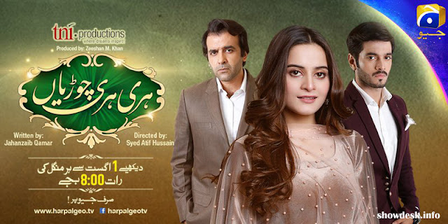 OST Hari Hari Churian Lyrics With Full Song | Har Pal Geo