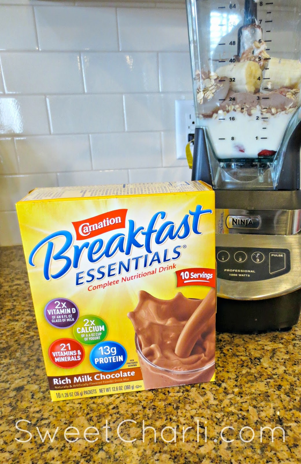 protein shake for breakfast kid friendly chocolate protein smoothie sweet charli 30834