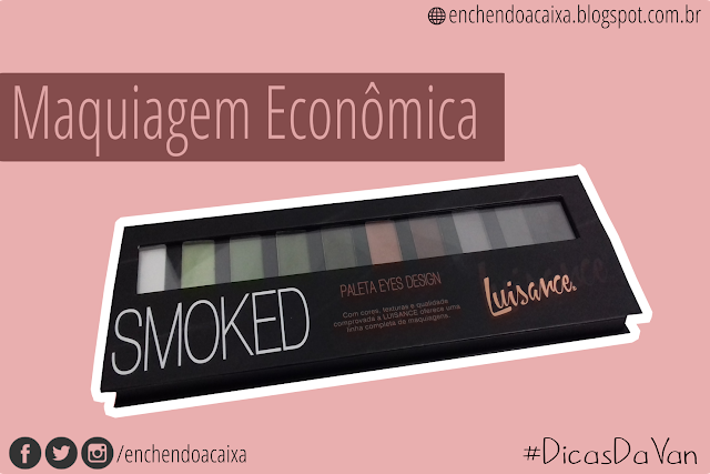 Paleta Eyes Design Smoked Luisance