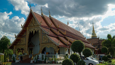 View of Wat Phra Singh from the outside