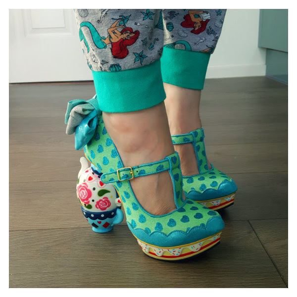wearing irregular choice alice my cup of tea