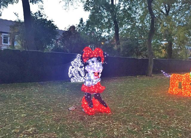 Disney Minnie Mouse at Sunderland Illumination 2017