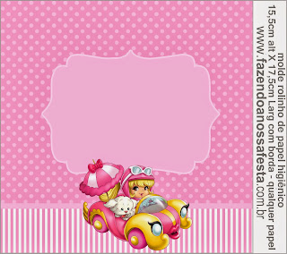 Etiquetas para Imprimir Gratis de Penelope Glamour Bebé.