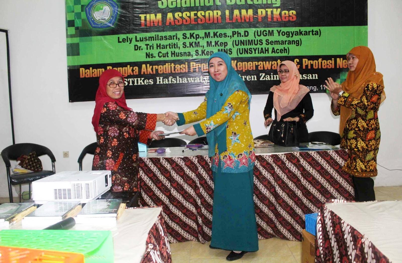 STIKES Hafshawaty Pesantren Zainul Hasan Genggong Terakreditasi B