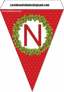 Kit Festa Natal Para Imprimir Grátis