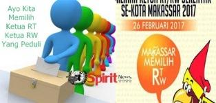 Semarak Pemilihan Ketua RT/RW,Kec.Biringkanaya Makassar