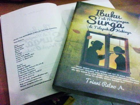 Novel karya Triani Retno