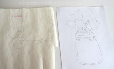 tracing applique pattern