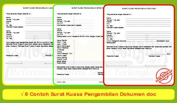 Beberapa dokumen penting dimadsud seperti ijazah, STNK dan BPKB motor dan mobil, sertifikat rumah dan tanah, pasport, visa, kartu keluarga (KK) dan sebagainya.