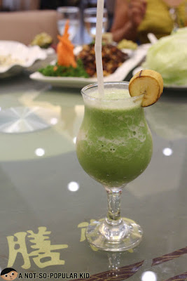 Banana Spinach Drink of King Chef