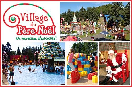 Concours express: Village du Père Noël- Quatre billets pour une famille