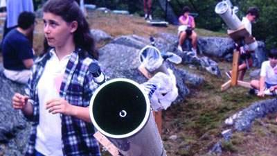 Kegiatan mahasiswa jurusan astronomi