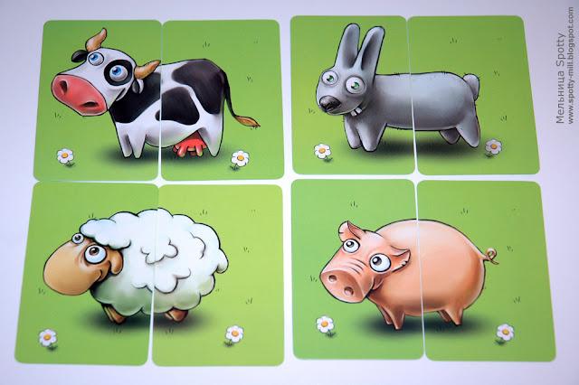 Настольная игра Веселая ферма (My Happy Farm)