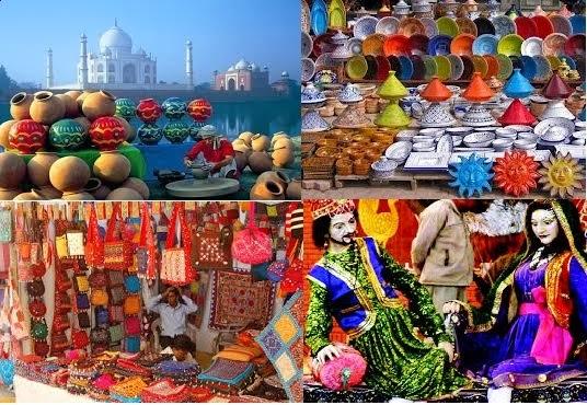 Taj Mahotsav -  Art and Craft