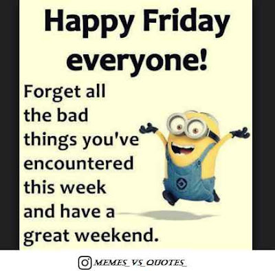 Happy Friday every one