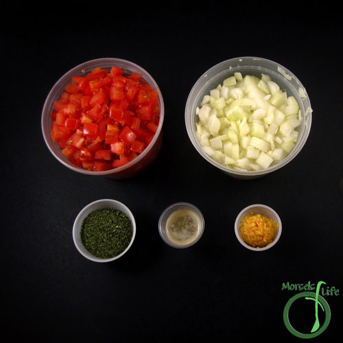 Morsels of Life - Pico de Gallo Step 1 - Gather all materials.