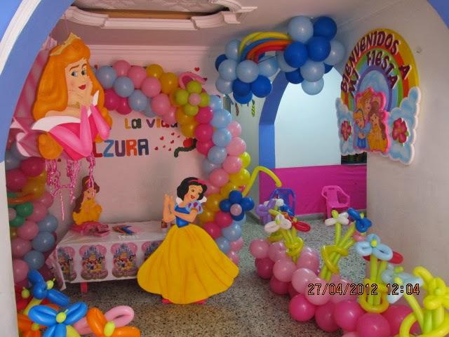Fiestas Infantiles, temática príncipes y princesas de Disney