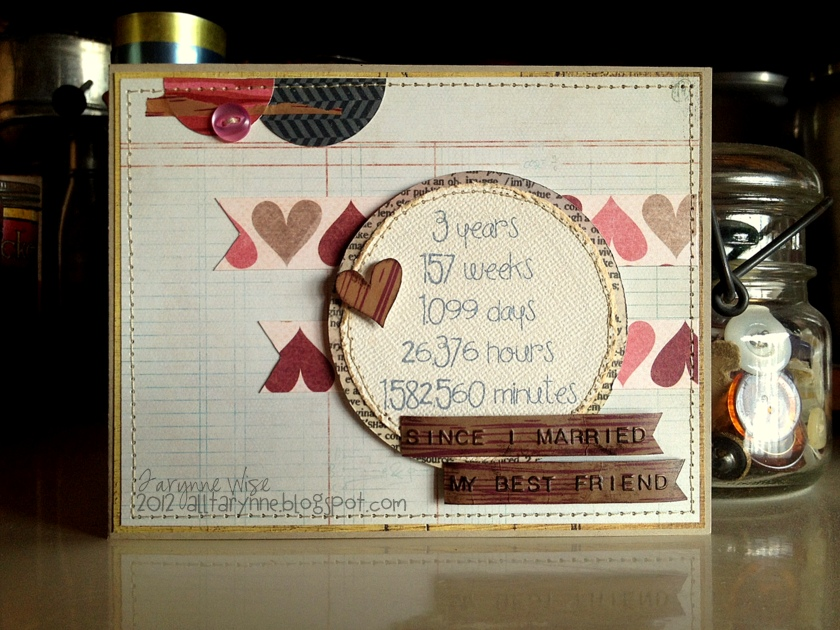 What Is 3rd Wedding Anniversary Gift: My Wise Designs: A Special Sunday Post