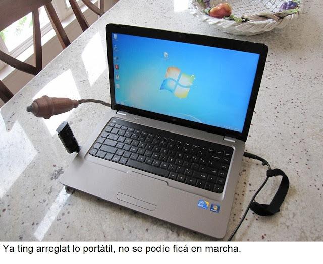 portátil, pereta, interruptó, laptop
