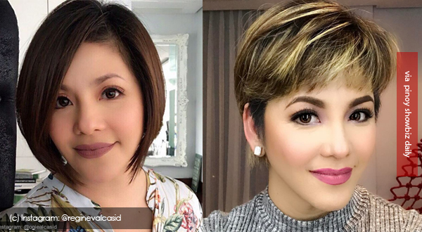 Regine Velasquez cuts hair even shorter