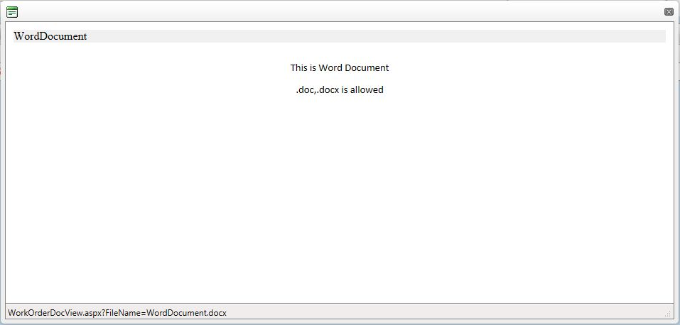 Word document in iframe ~ DotNet Technology