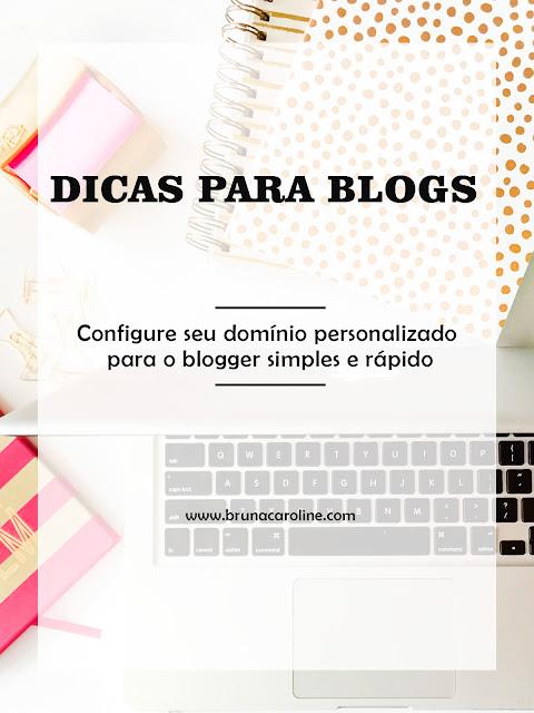 Como configurar o seu domínio godaddy para o blogger