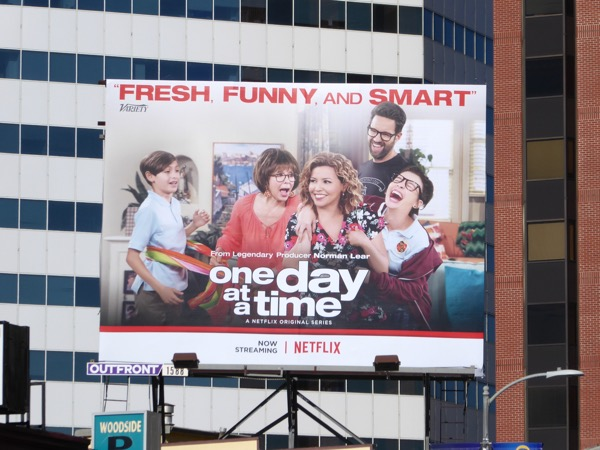 One Day at a Time TV remake billboard