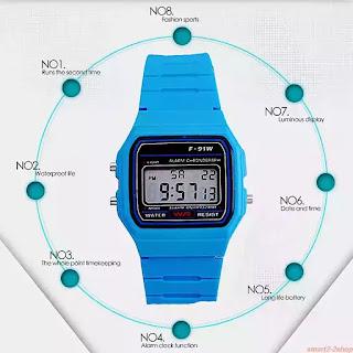 """Relógio Digital Clássico Tipo """"CASIO"""""""