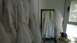 An image of the Bridal Gowns with the Mirror