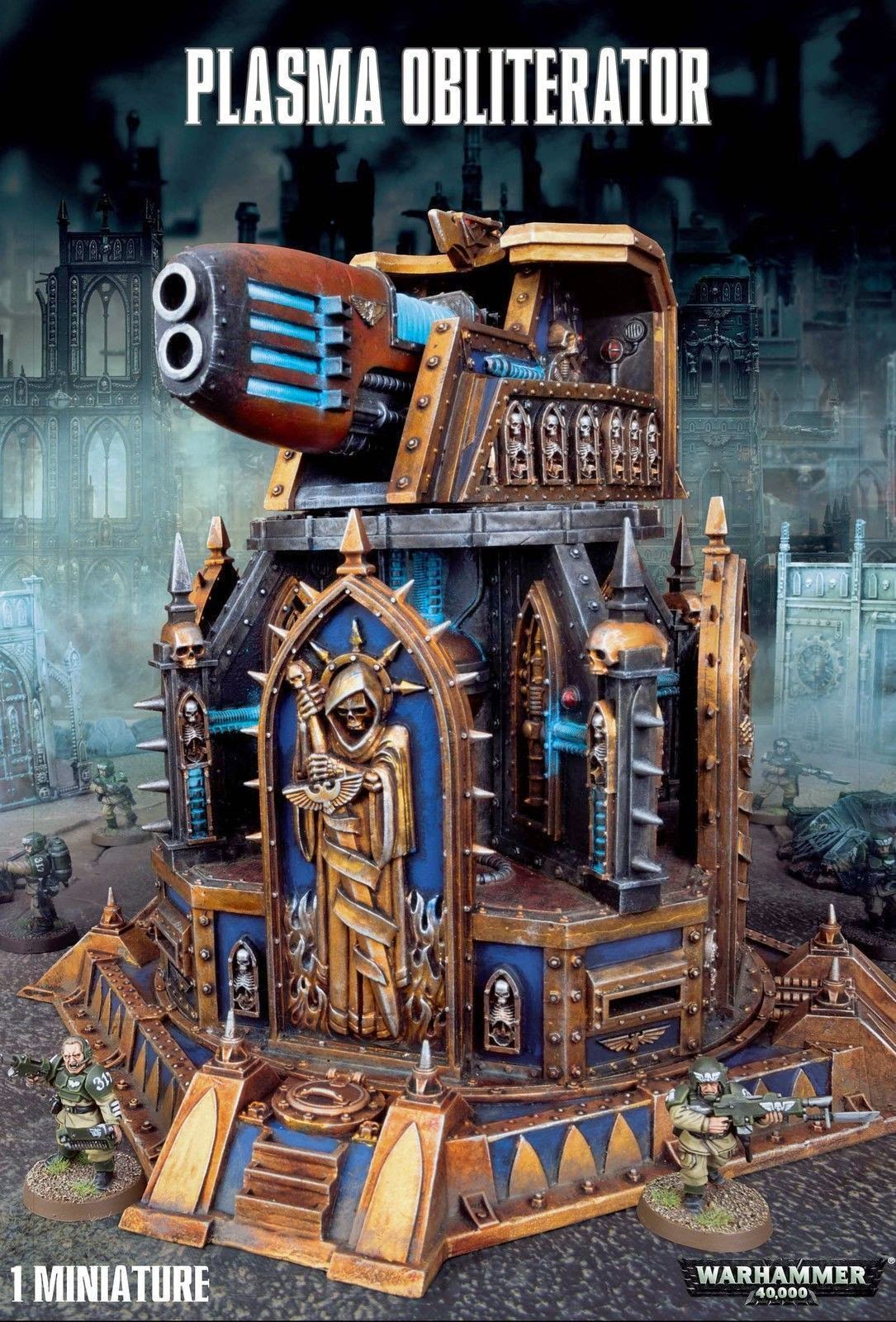 Limited Edition Warhammer Models Plasma Obliterator Terrian