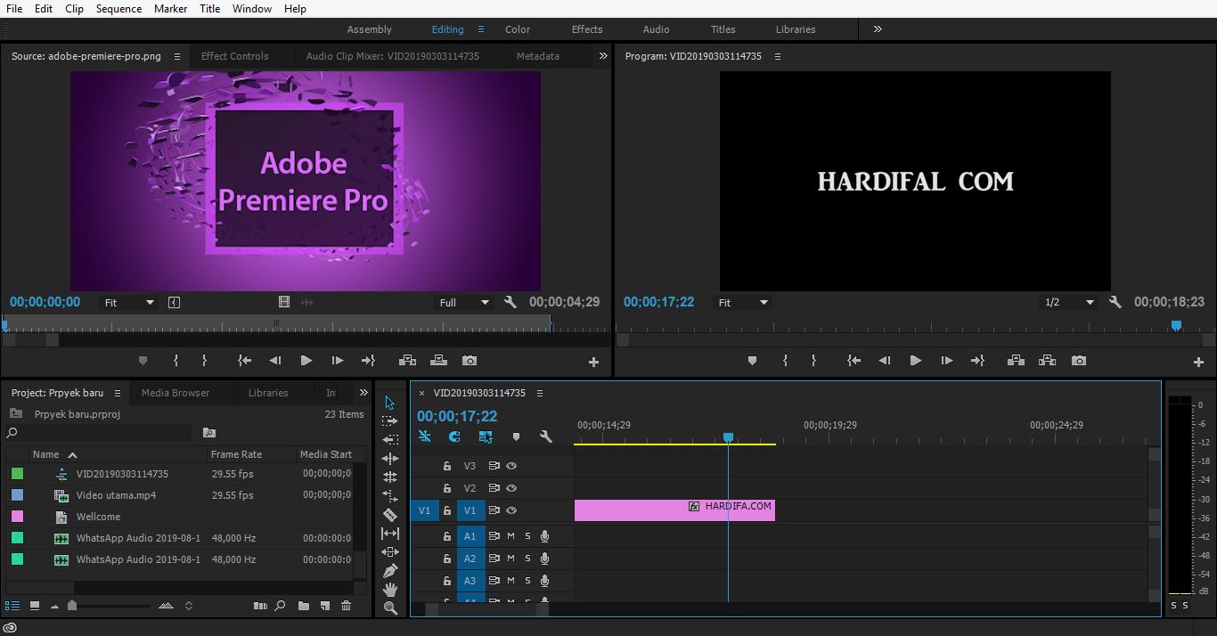 Gambar Download dan Cara Install Adobe Premiere Pro CC 2015 V10 4.3 Full  Crack Version Ringan Tanpa Ribet