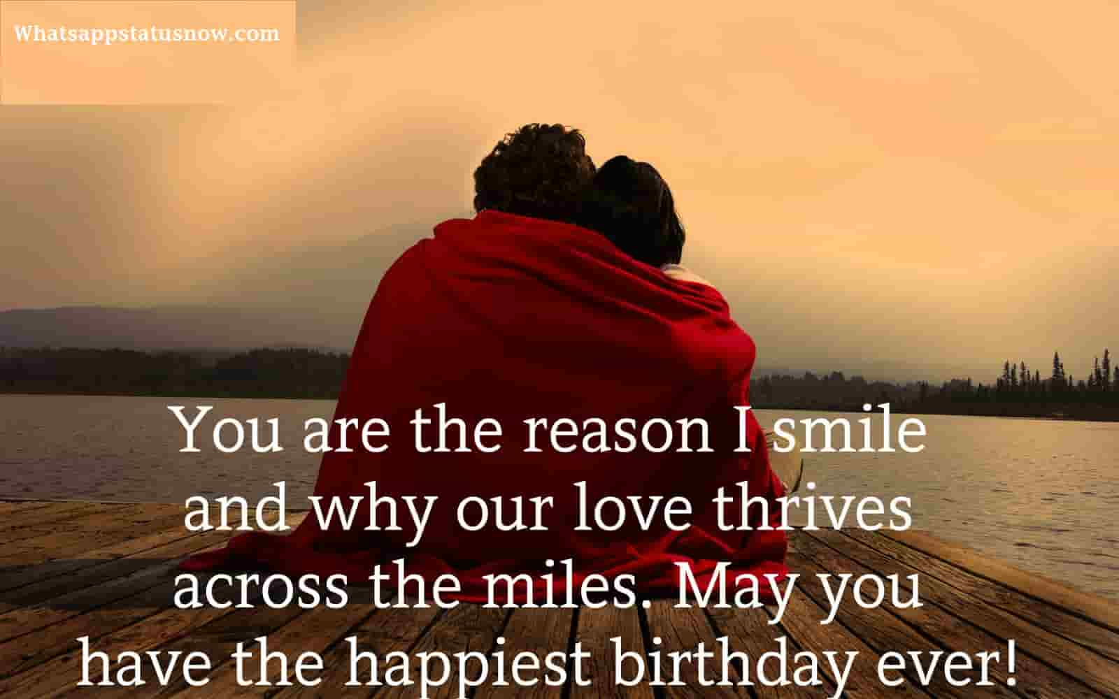 Love Quotes For My Love Romantic Birthday Wishes For Lover  Happy Birthday My Love