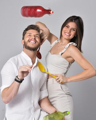 Klebber Toledo e Camila Queiroz — Foto: Fábio Rocha/ TV Globo