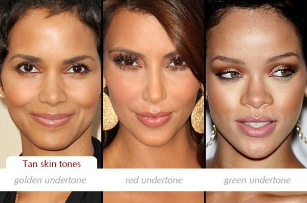 Make Up Charts Determining Dark Skin Tones And Undertones