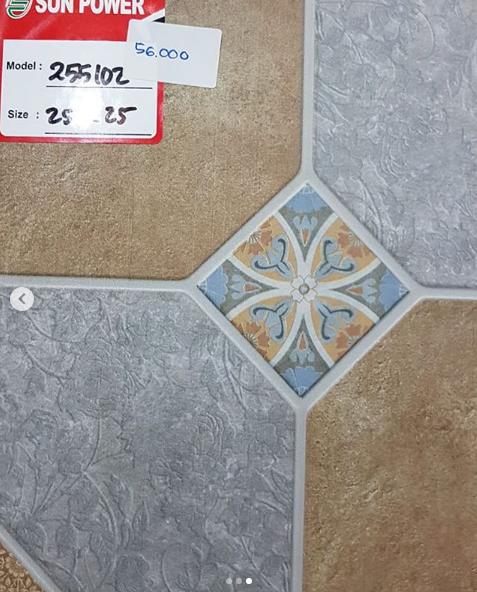 Contoh Keramik 25x25 Cocok Untuk Lantai Kamar Mandi