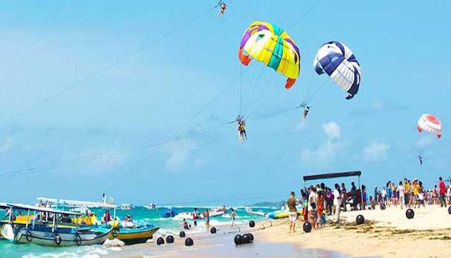 Menikmati Wahana Air Pantai Tanjung Benoa Yang Eksotis
