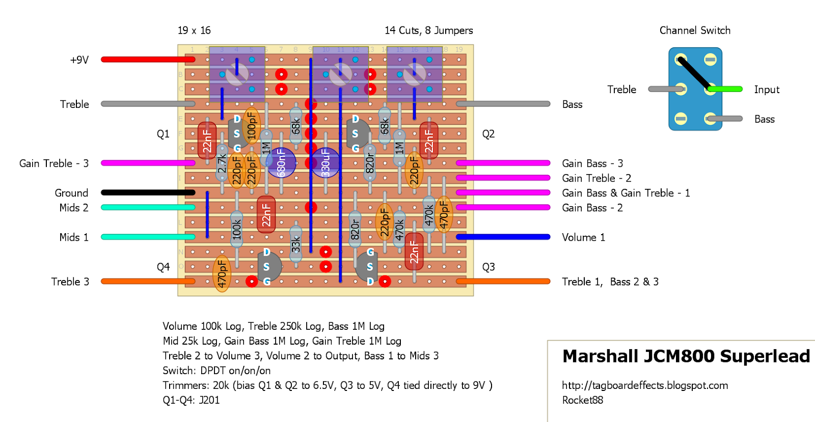Boss Ce 2 Schematic As Well Marshall Jcm 800 Schematic As Well