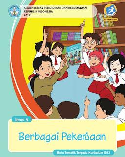 Download Buku Guru SD/MI Kelas 4 (Empat) Kurikulum 2013 Revisi 2017 Lengkap