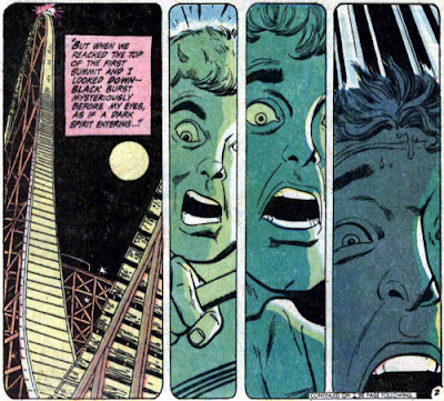 Flash #195, Roller Coaster phobia, nightmare
