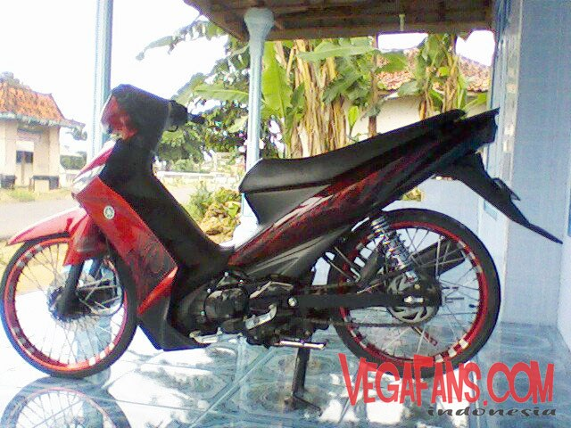 Vega ZR Modif Simple Elegan Merah 6