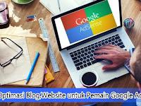 Cara Optimasi Blog/Website untuk Pemain Google Adsense
