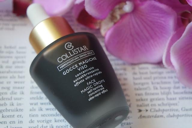 collistar face magic drops self-tanning